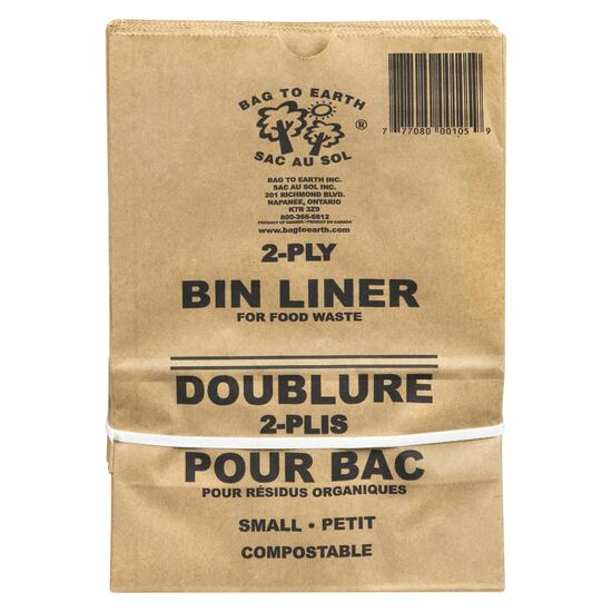 Bag to Earth Small Bin Liner Bags - 10pk