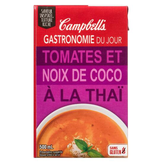 Campbell's Everyday Gourmet Ready to Serve Soup Thai Tomato Coconut - 500ml