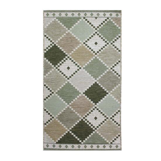 Avocado Décor Soft Green Esterno Tiles Rug - 6.9ft.x9.6ft.