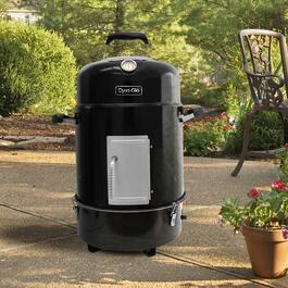 Dyna-Glo Black Compact Charcoal Bullet Smoker