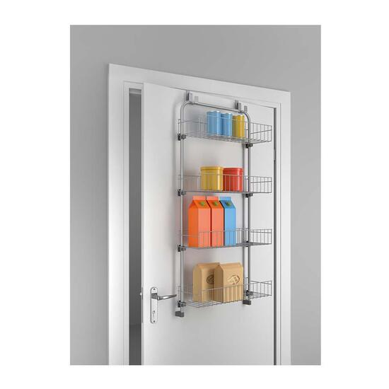 Metaltex Over The Door 4 Tier Storage Solution