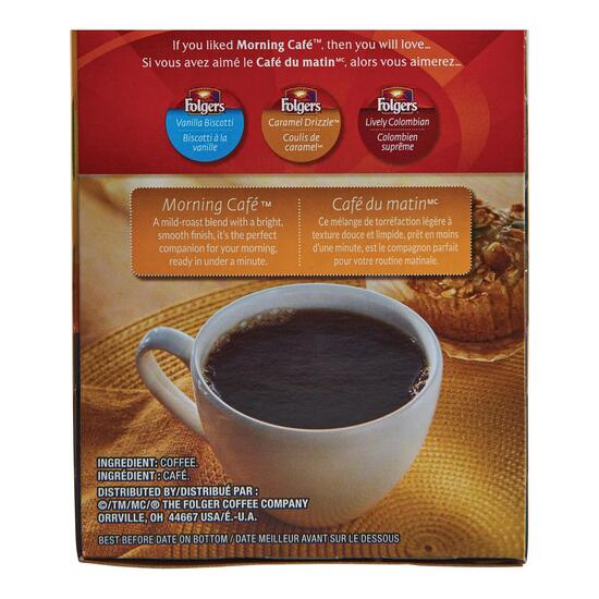 Folgers Morning Cafe Keurig Coffee Pods 30pk. - 270g