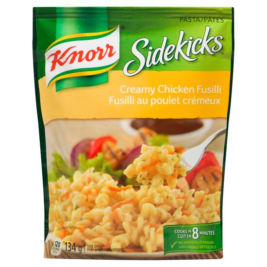 Knorr Sidekicks Creamy Chicken Fusilli - 134g