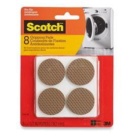 Scotch Round Brown Gripping Pads - 8pk.