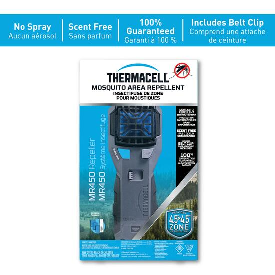 Thermacell Portable Mosquito Repeller with Clip - Grey