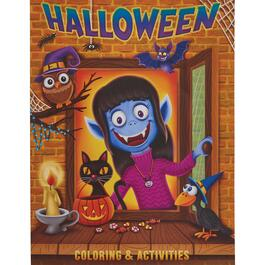 Halloween Jumbo Kids Colouring Book