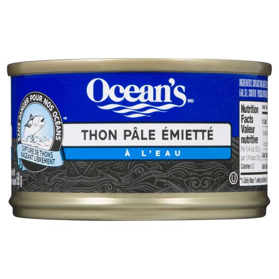 Ocean's Flaked Light Tuna in Water - 85g