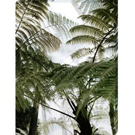 Green Fern Tree Canvas Art - 18in. x 24in.