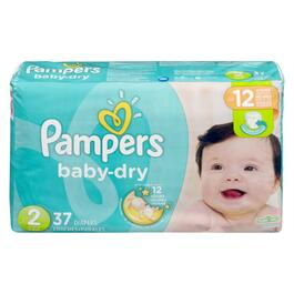 Pampers Baby Dry Jumbo Pack - 37pk.