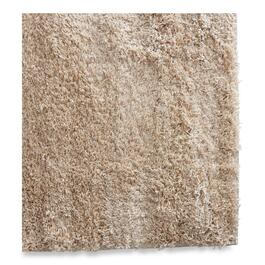 Light Taupe Shag Rug - 79in.
