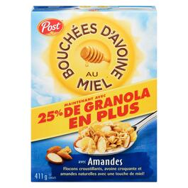 Honey Bunches of Oats Cereal with Almonds - 411g