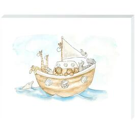Animal Boat - 11in. x 14in.