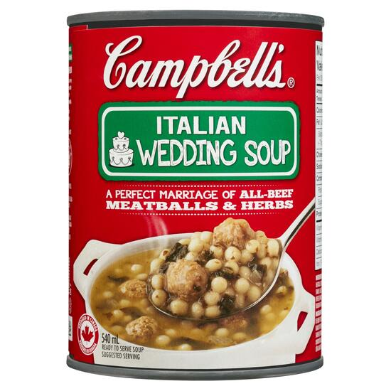Campbell's Ready to Serve Soup Italian Wedding - 540ml