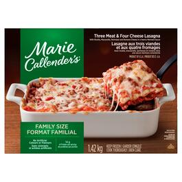 Marie Callender's Three Meat and Four Cheese Family Size Lasagna - 1.4kg