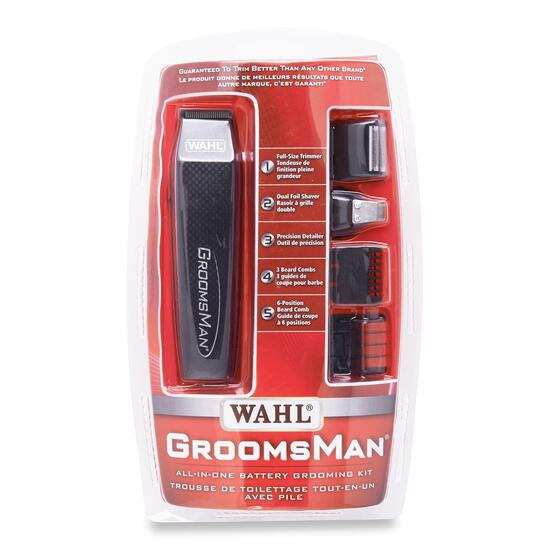 Wahl GroomsMan Battery Trim Set