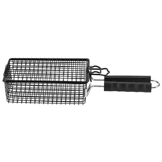 MR. BAR-B-Q Flip Basket with Removable Handle