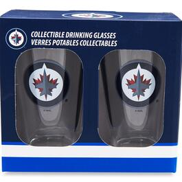 NHL Winnipeg Jets Pint Glass - 2pk.