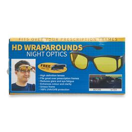 As Seen On TV HD Night Vision Wraparound Glasses