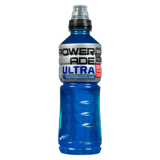 Powerade Ultra Electrolyte Blue Raspberry Cherry Sports Drink - 710ml