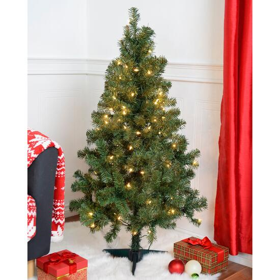 Danson Décor Lighted Tree - 4ft