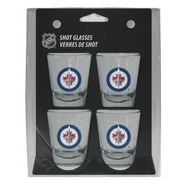 NHL Winnipeg Jets Shot Glass Gift Set - 4pk.