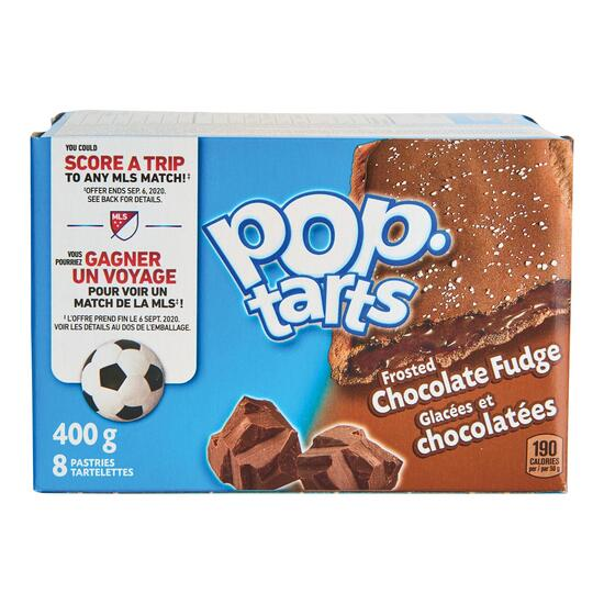 Kellogg's Frosted Chocolate Fudge Pop Tarts - 400g
