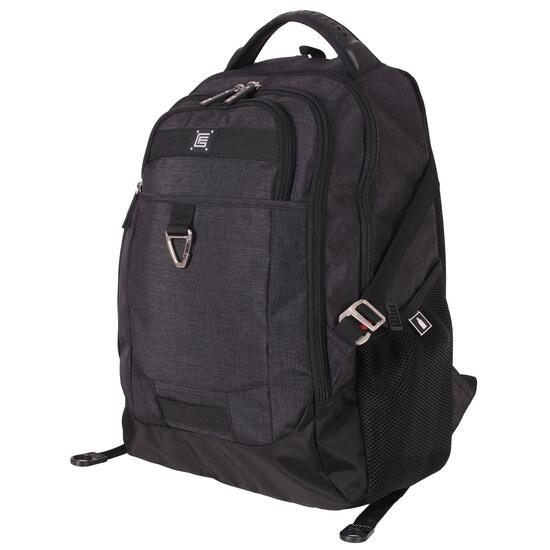 Gino Ferrari Black Arco Backpack
