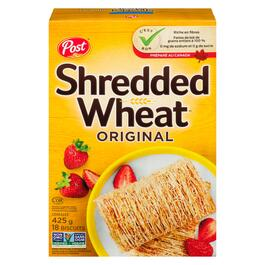 Post Shredded Wheat Cereal Biscuits 18pk. -  425g