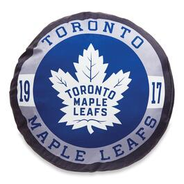 NHL Toronto Maple Leafs Puck  Pillow - 24in.