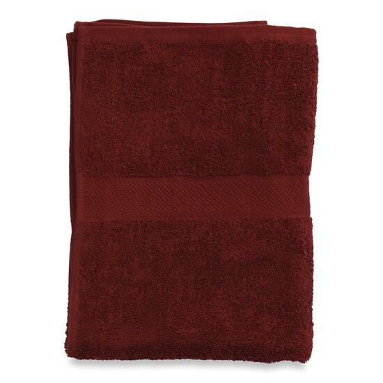 Atelier Martex Burgundy Bath Sheet - 63in.