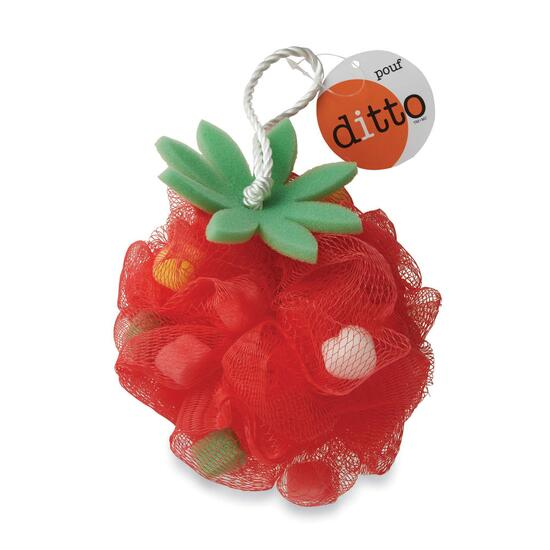 Ditto Fruit Shape Bath Pouf