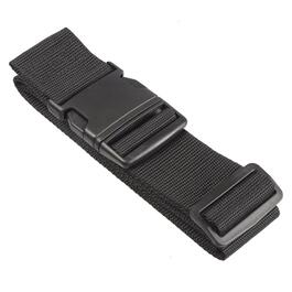 NICCI Black Luggage Strap with Plastic Buckle