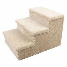 Penn Plax 3-Step Carpeted Pet Stairs