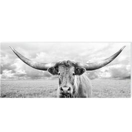 Long Horn Canvas Art - 16in. x 40in.
