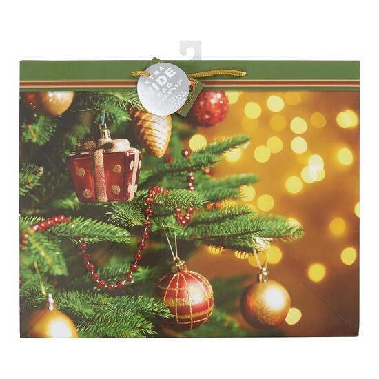 Christmas Horizontal Extra Wide Bag