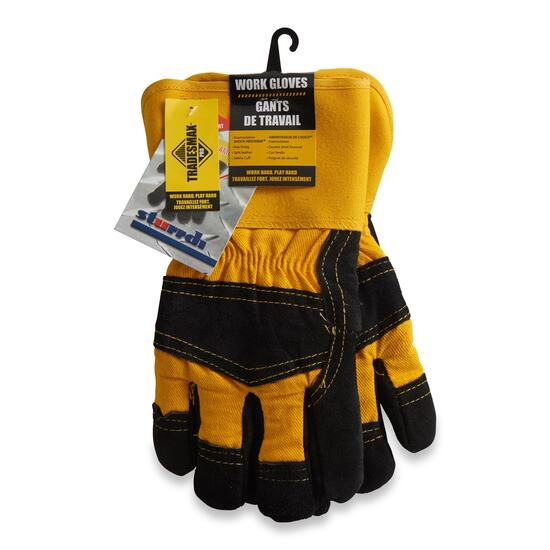 Tradesmax Pro Men's Sherpa Work Gloves - One Size
