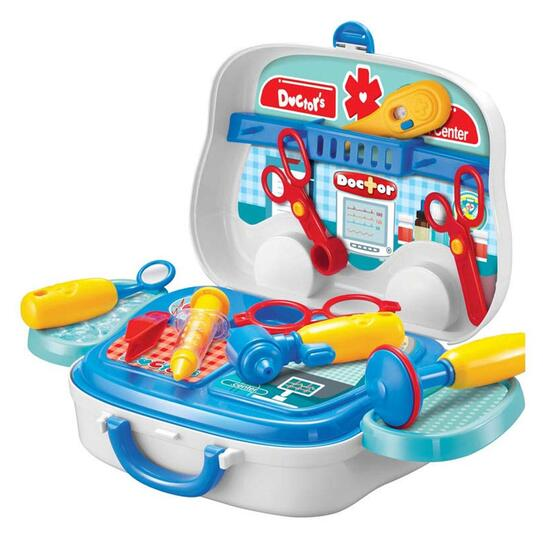 Toy Chef Children's On-The-Go Toy Doctor Set