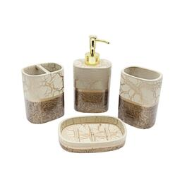 Marina Decoration Branch Style Bath Set - 4pc.