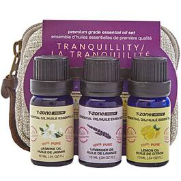 T-Zone Health Tranquillity Theme Essential Oils 3pk. - 10mL