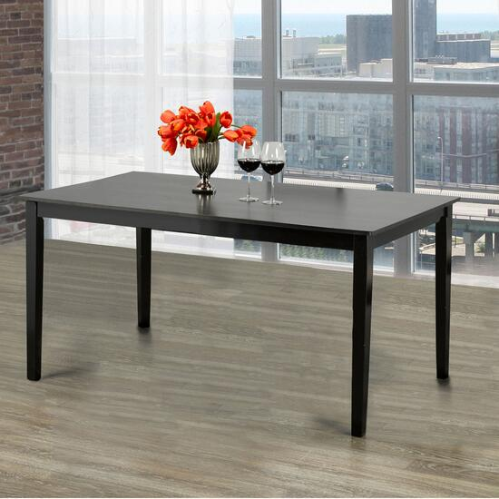 Titus Solid Wood and Wood Veneers Dining Table