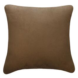 Millano Brown Rawhide Faux Suede Cushion - 16in.