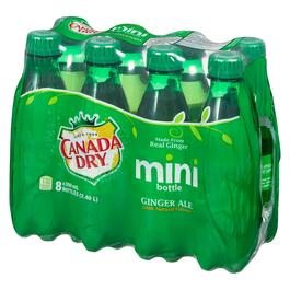 Canada Dry Ginger Ale Mini Bottles 8pk. - 300 ml
