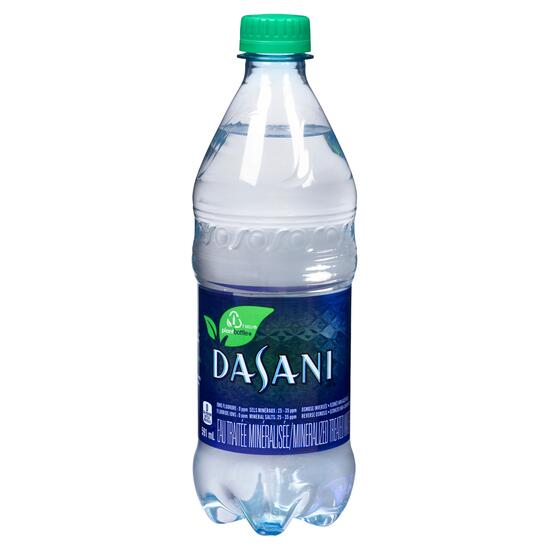 Dasani Mineralized Treated Water - 591ml