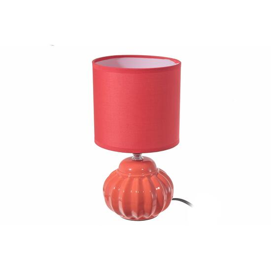 Coral Joy Ceramic Table Lamp with Shade