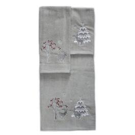 Marina Decoration Deer Towel Set - 3pc.