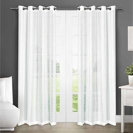 Exclusive Home Apollo Sheer Curtains - 84in.