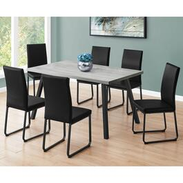 Monarch Specialties Grey Dining Table - 60in.