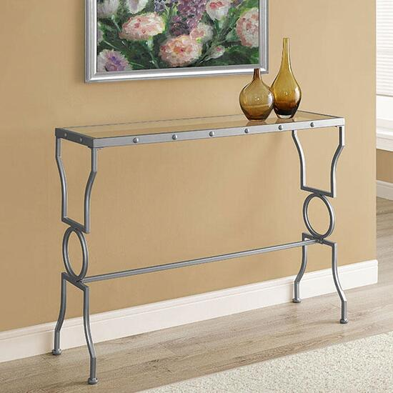 Monarch Specialties Metal Console Table