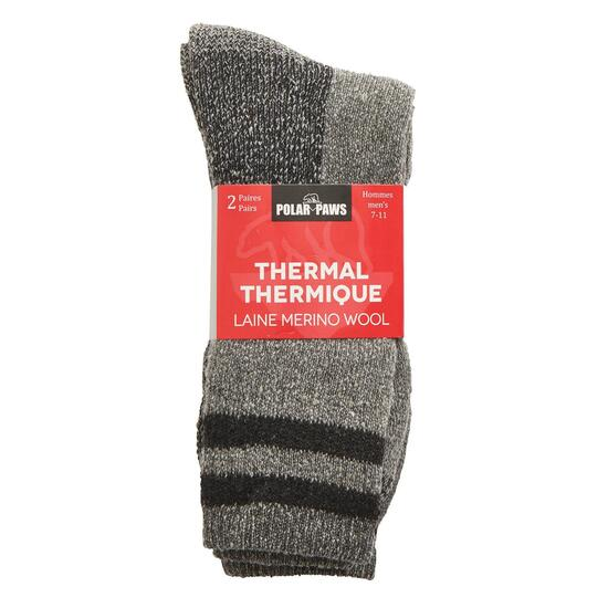 Men's Thermal Socks 2pk. - 10-13