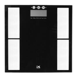 Kalorik Black Electronic Body Fat Scale